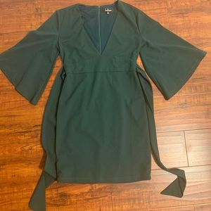 Lulu's brand olive green formal/cocktail dress